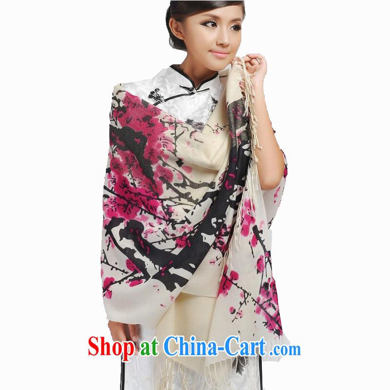 Today's story winter female new stylish warm Phillips, 80 S wool scarf shawl JD 193,043 purple