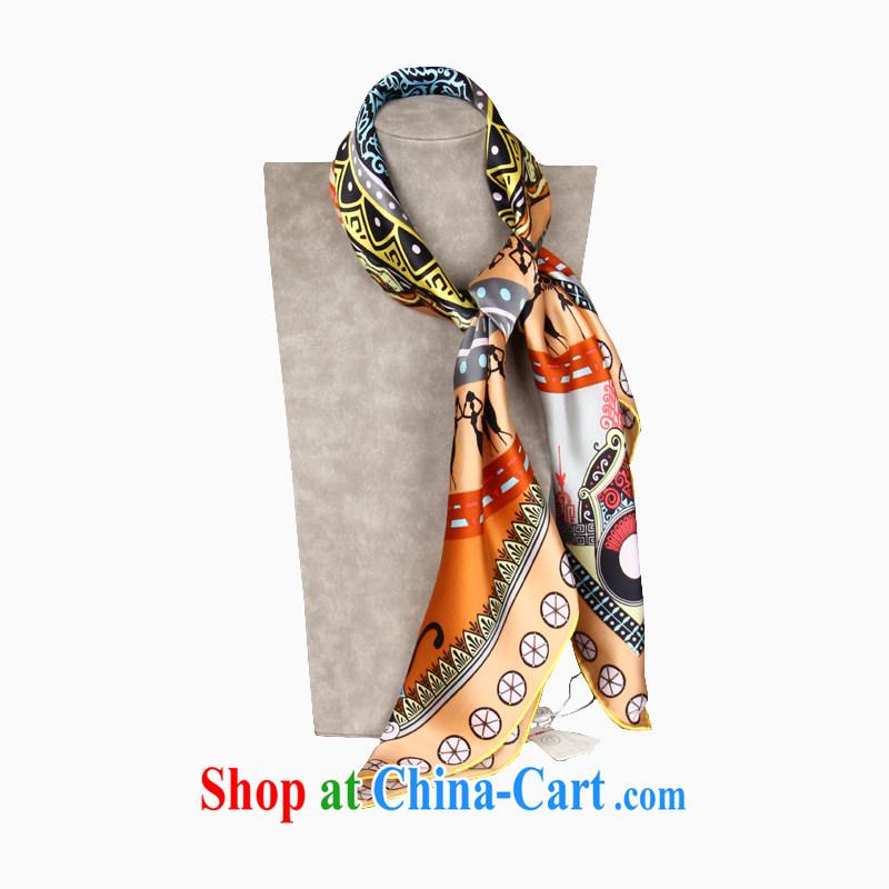 Gemstone butterfly BAOSHIDI silk scarf dos santos Ms. silk scarf silk gift classy towels/aperture 1 color