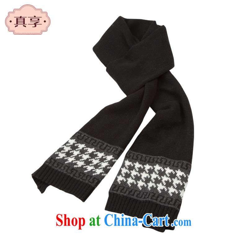 really enjoy Ms. scarf winter 1000 birds, wool knitting scarf W 048 black