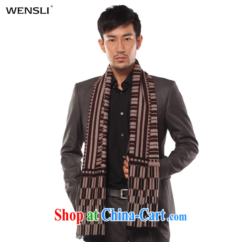 10,000 was the fall and winter, thick warm men's Silk brushed Scarf for PET