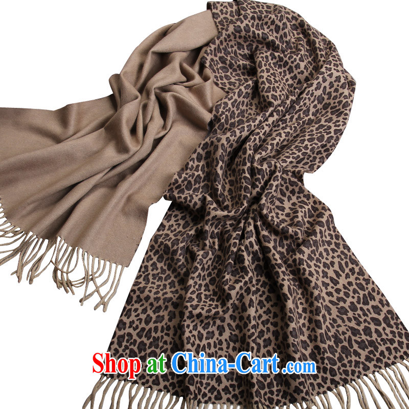Shanghai Story winter new wool cashmere two-sided printing scarf shawl ultra-long the female Venice tour