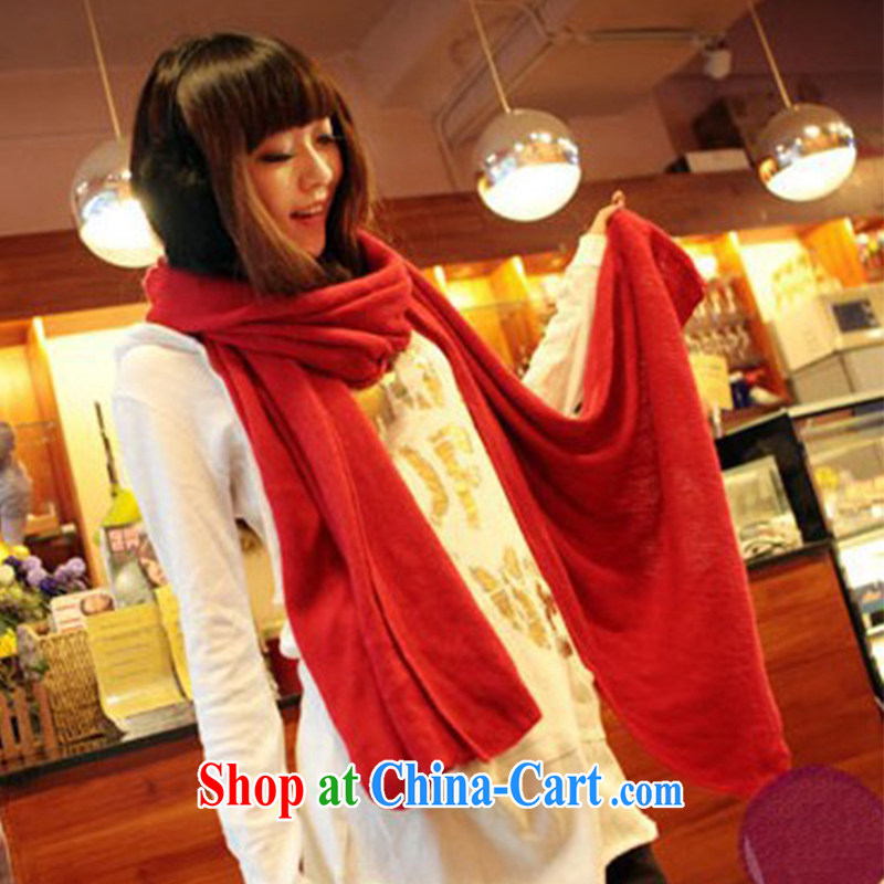 Long scarf shawl knitting anti-cashmere shawls scarves couples WWJ 131,158 red length (CM) 175 more than CM