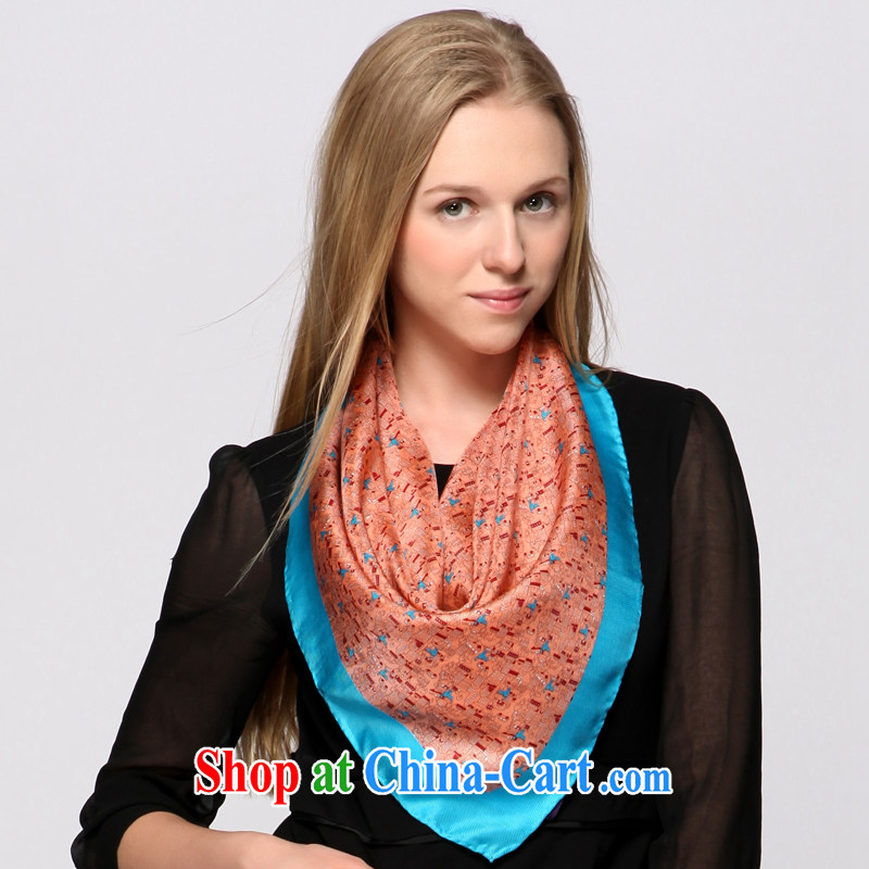 ZIZHEN exclusive fashion career scarves Small cats and silk cloth silk scarf loose stone,