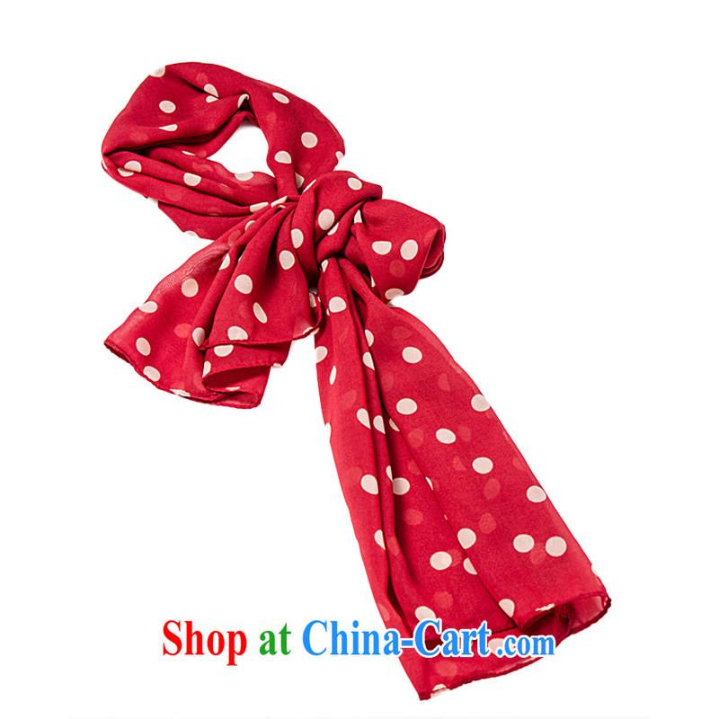 Taiwan UV 100 New Section 100a long silk scarf scarf women thin sunscreen shawl summer UV 14,888 retro red