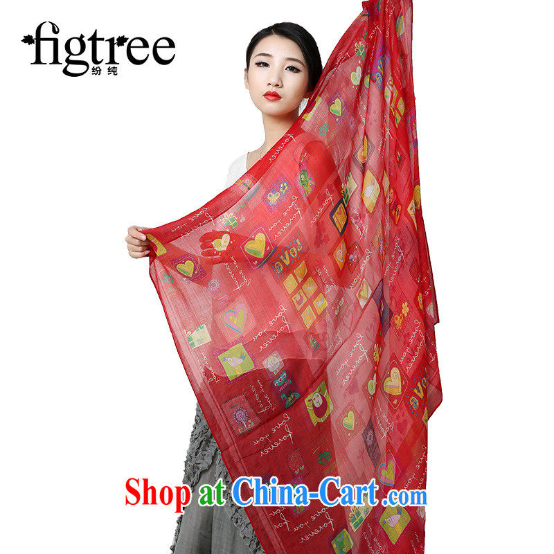As pure wool scarf shawl the warm Korean large long scarf love apartment design the red