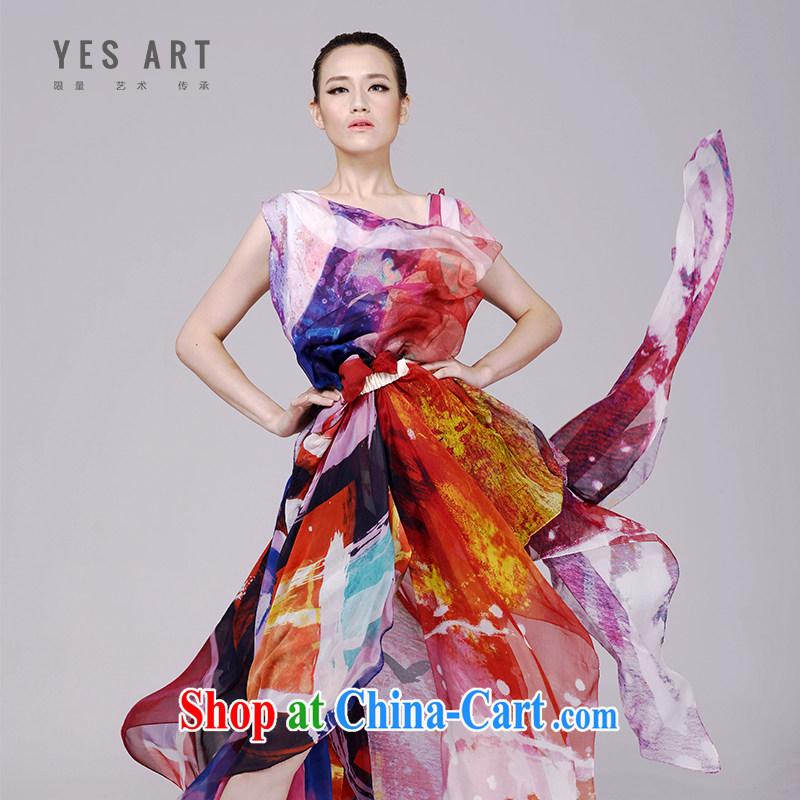 Jacob, yet stylish art silk scarf silk 100% silk sandy beach towels long shawl sunscreen silk scarf tree