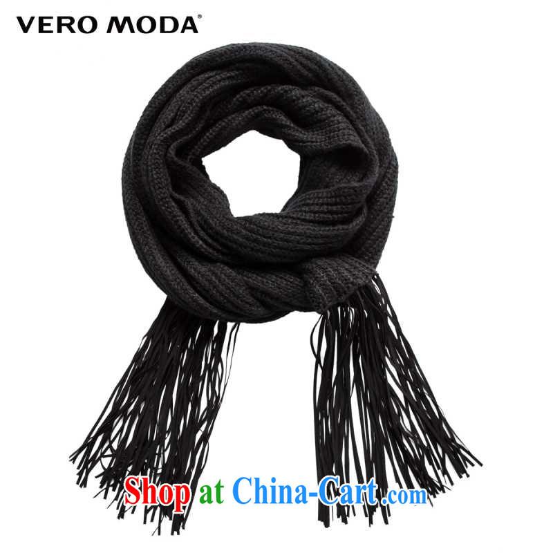 Vero Moda high pop-up knitted net Color Flow, female scarf N | 314388011 black