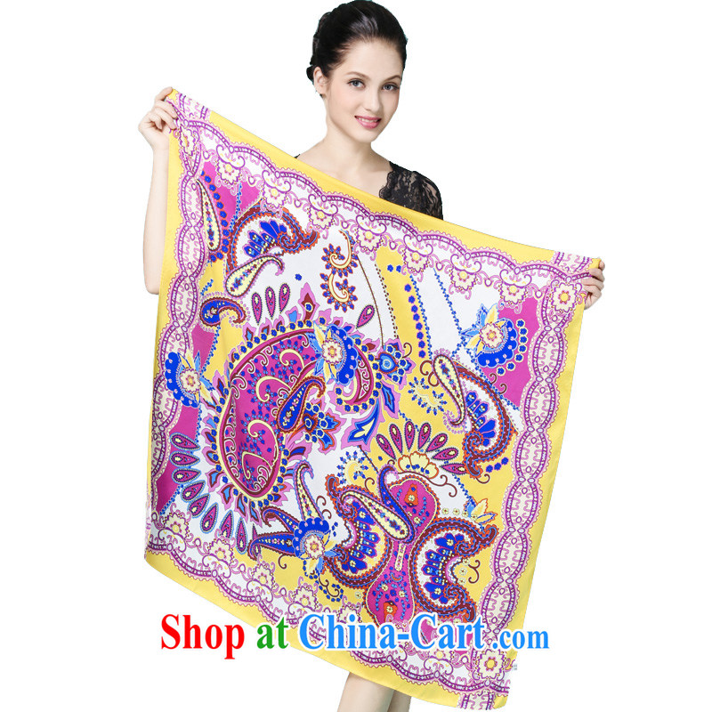 Also, impressive high quality 100% dos santos silk silk scarf Jurchen silk scarf shawl two Spring and Autumn with professional and classy towels 1 color