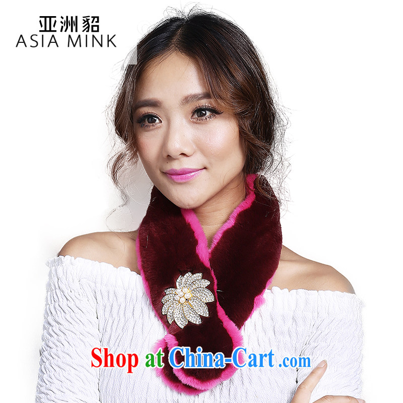 Asian stingrays 2014 Spring and Winter new Korean version, Rabbit fur grass scarf flouncing scarf girl winter tides code