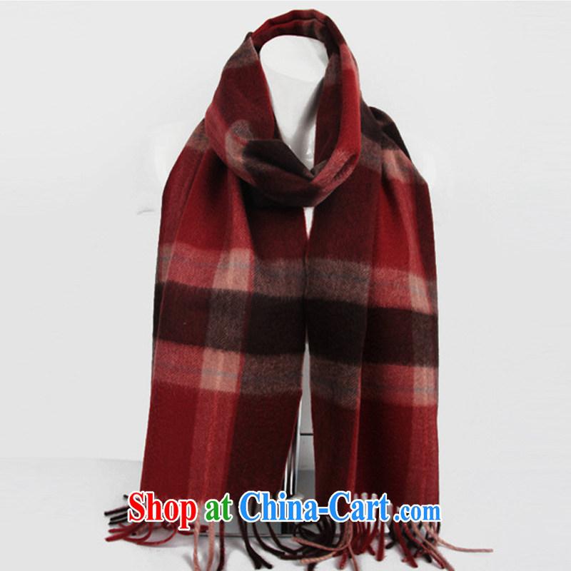Shanghai Story high pure cashmere unisex tartan pashmina shawl Business Gifts