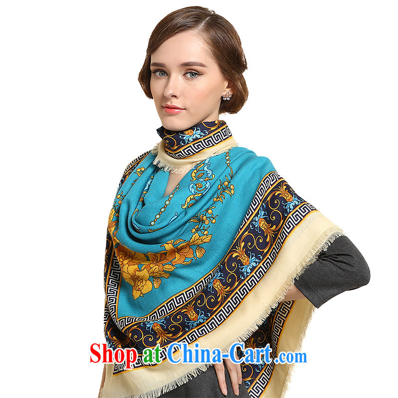 Gemstone butterfly wool scarf girl 2014 fall_winter new shawl scarves_dome~ edge No. 2 color