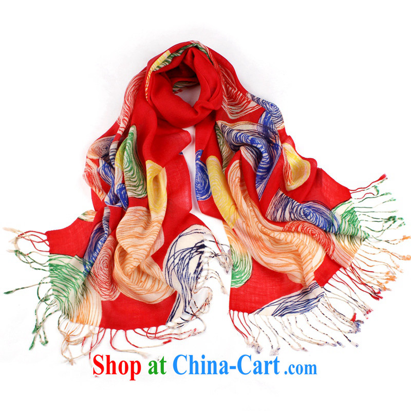 Shanghai Story wool scarf Korean version, Ms. Princess Australia imported pure wool scarf 2014 autumn and winter new upscale stamp out warm long shawl 2 #