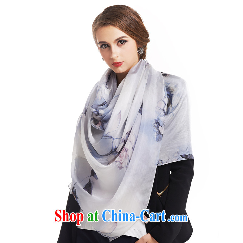 silk industry Ms. SIGI silk scarf long sauna silk scarves counters are spring ballet gray, silk, and on-line shopping