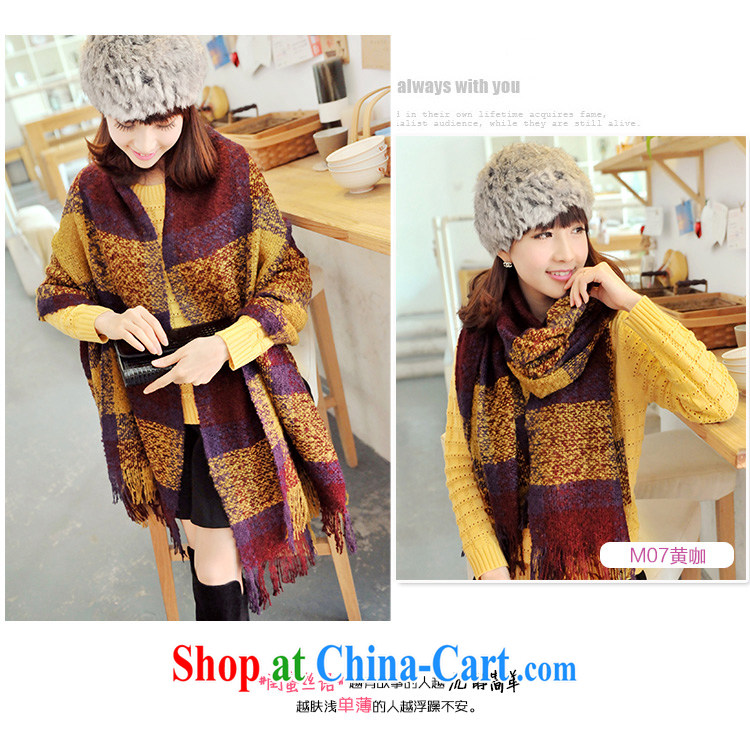 Nam-soo, bilingual L &A emulation pashmina, autumn and winter, new thick arts checkered long, warm shawl, scarf M 07 yellow curry pictures, price, brand platters! Elections are good character, the national distribution, so why buy now enjoy more preferential! Health