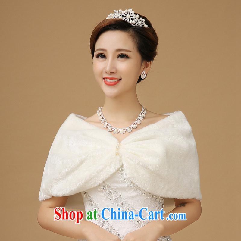 Upscale bridal hollow bridal hair shawl shawl marriage wedding dresses shawls warm fashion shawl white