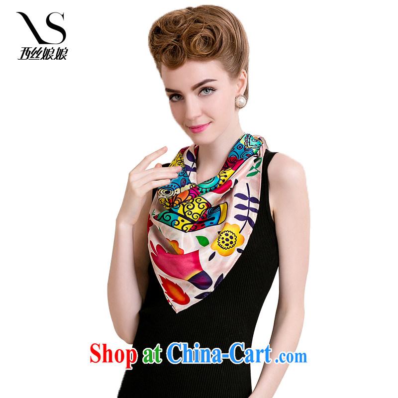 The goddess, new 100% sauna silk stylish silk silk scarf and classy towel, spring and summer scarf shawl 301 B puppet Ma
