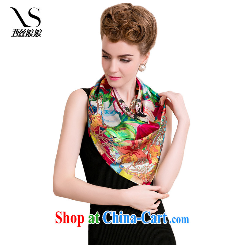 The silk goddess 100% sauna silk spring and summer high-ying, bow-tie silk silk scarf and classy scarf scarves shawls 126,106 E in Peony 131,301 are code