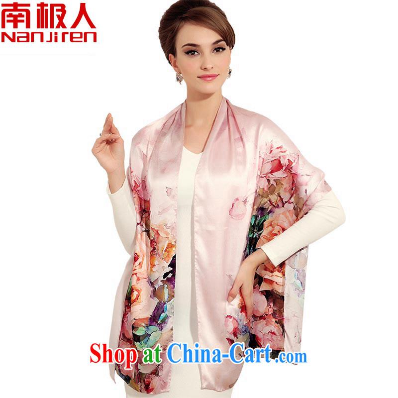 Antarctic state color day Hong Kong Electric boom silk silk scarf, Korean style sauna silk upscale silk silk silk scarf silk scarf 9 _