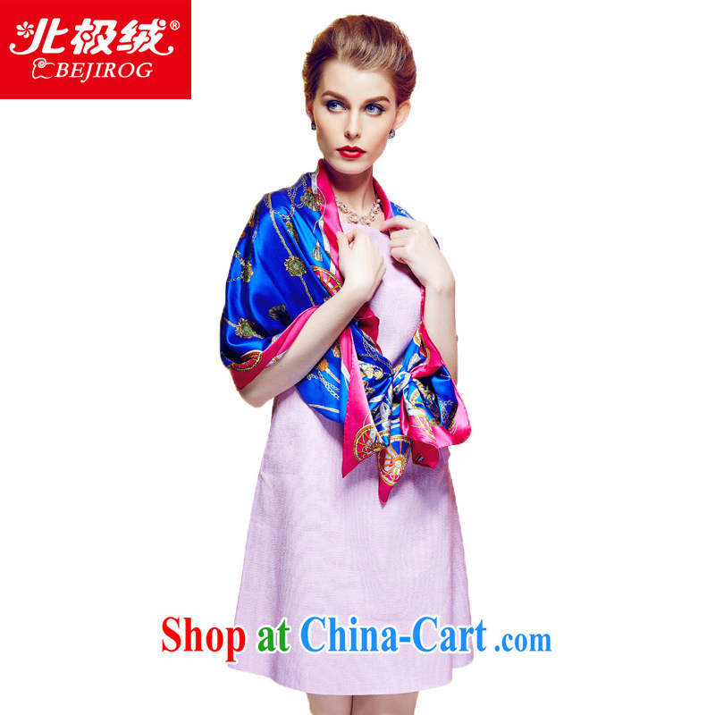 The Arctic lint-free 2015 new digital painting 100% sauna silk scarf scarf Ms. Extralong silk scarves long towel chain carriage No. 1