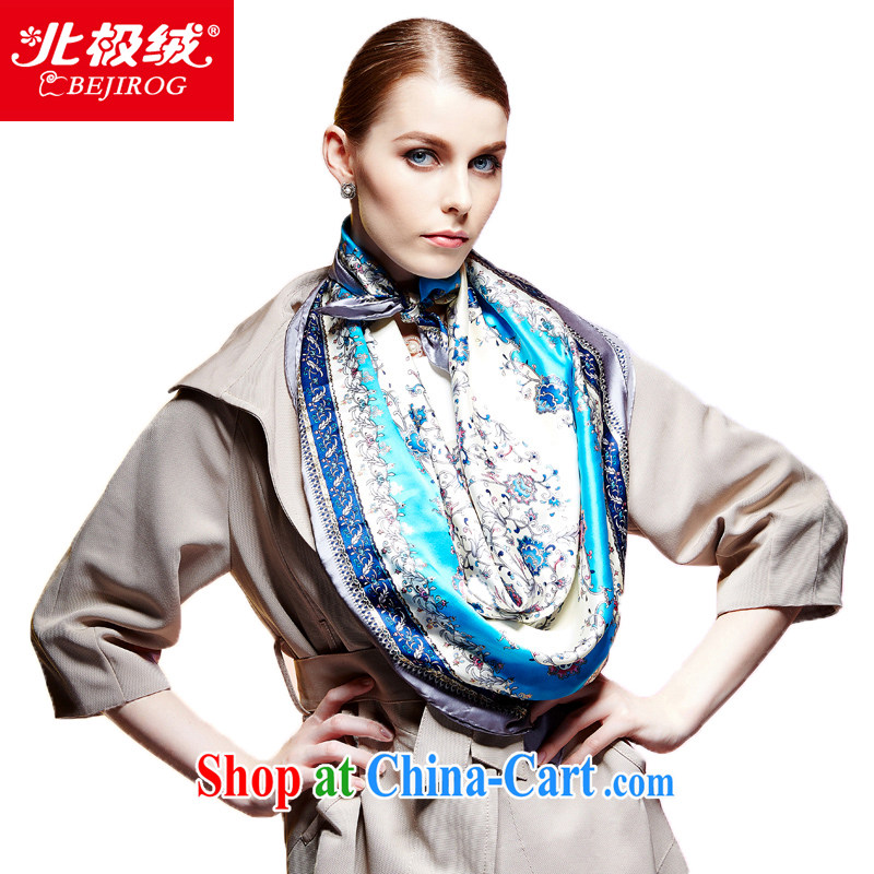 The Arctic lint-free cloth, new silk scarf is very classy and 100 % sauna silk scarf summer Ms. sunscreen and stylish shawl scarf wrap-chih-lin- 3#