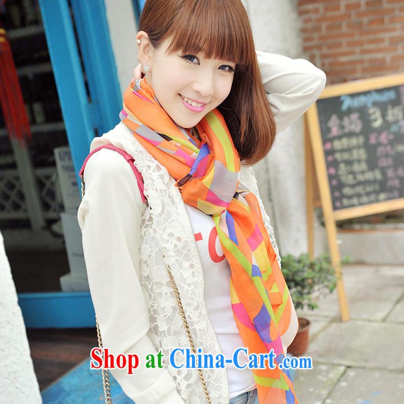 Nam-soo, bilingual L _A 2014 autumn and winter, emulation, silk scarf, snow-woven silk scarf PP FL 633 .