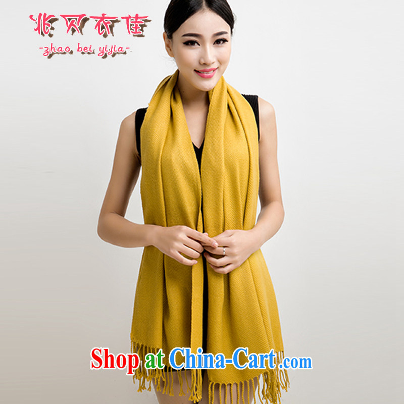 Siu Pui Yi Jia 2014 autumn and winter new Cashmere scarf women cashmere shawls Solid Color scarves and the elegant and stylish 017