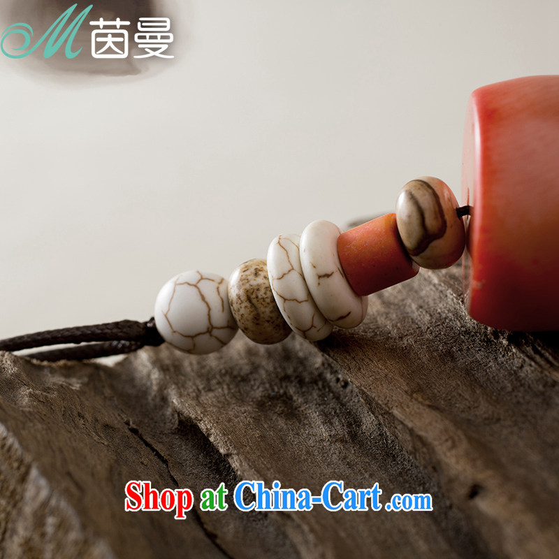 Yan, original jewelry necklace pure natural coral Pearl mentioned the stone pendants women sweater link 844150013 toner peach, Athena, and shopping on the Internet