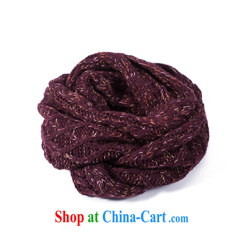Athena Cayman 2014 autumn and winter with new 100 ground soft knitting knitting, scarf mauve 844140022