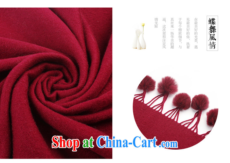 Butterfly Dance linger 2014 autumn and winter new pixel color, rabbit hair ball, warm woolen shawl, long scarf brown pictures, price, brand platters! Elections are good character, the national distribution, so why buy now enjoy more preferential! Health