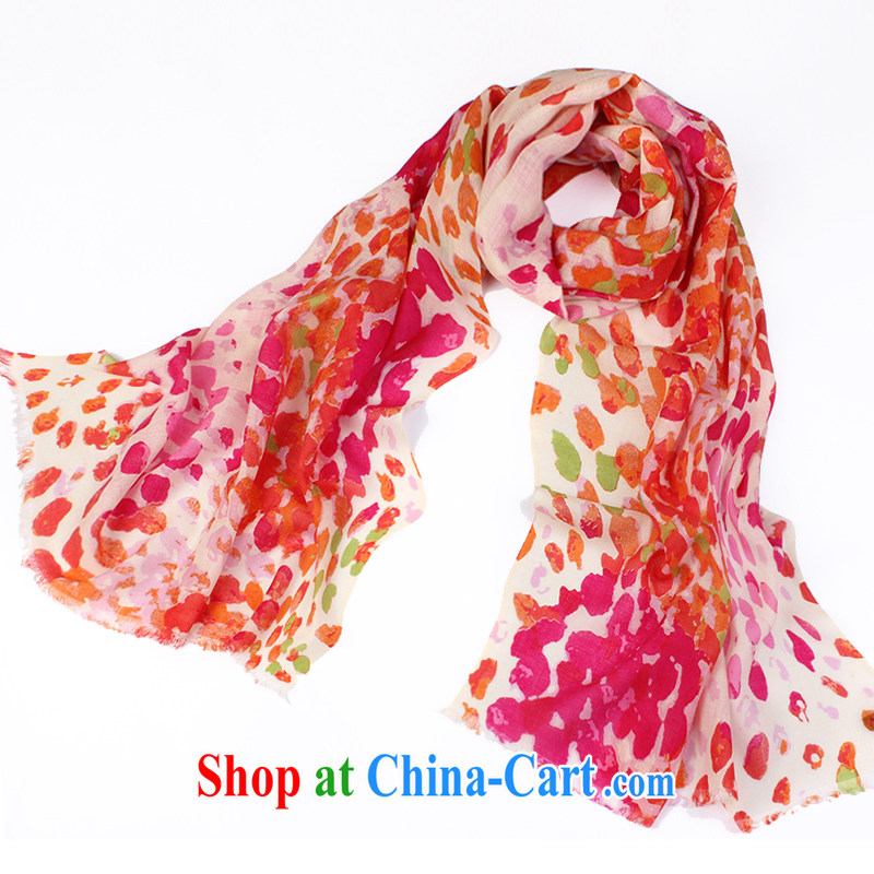 Butterfly Dance linger stamp duty wool scarf, shawl Korean Air Conditioning shawl thick extra long scarves bright star