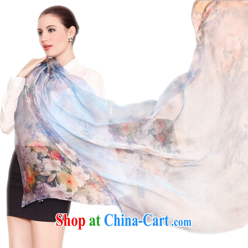 Hung-chun 100 flowers simple yet elegant Chinese style stylish, classy and lady sauna silk silk scarf, Long, New Silk silk scarf long scarf red, Hung-chun, and shopping on the Internet