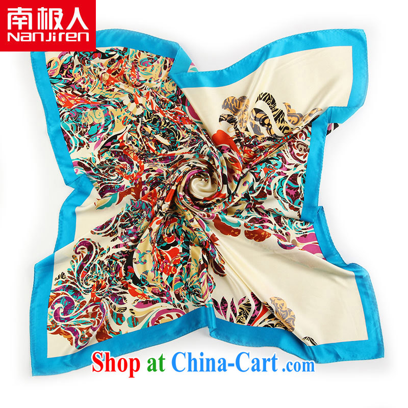 Antarctic (Nanjiren) spring and summer silk scarf and classy, mulberry silk scarf-Dunhuang.