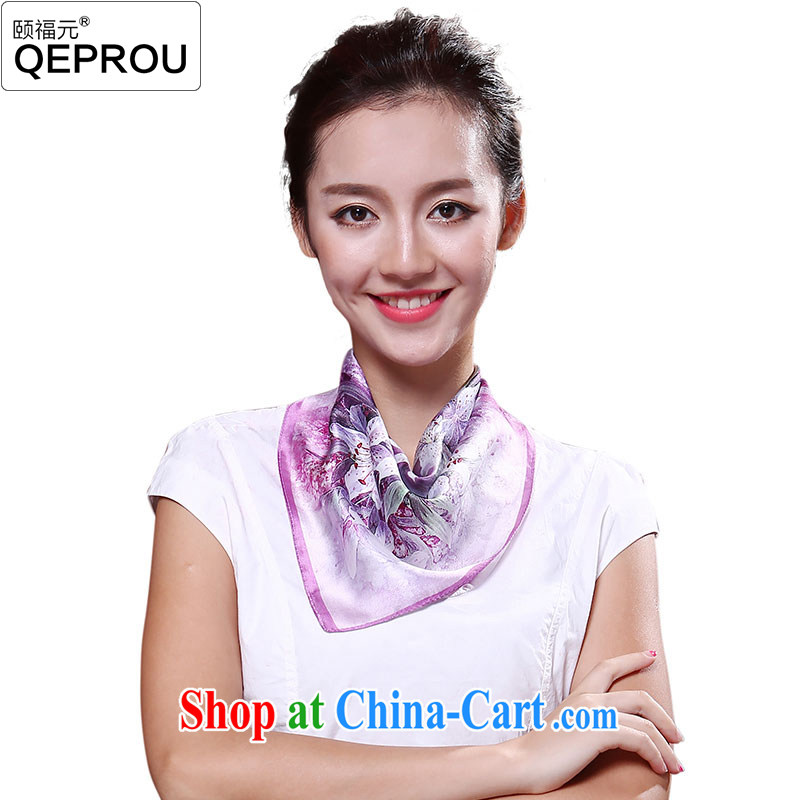 We fu yuan qeprou silk small towel spring 2015 new, silk scarf, silk scarf professional silk scarf gift party silk scarf 3 #love 100 close
