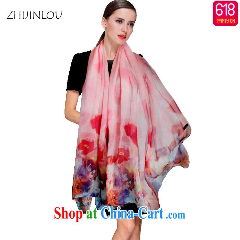 Tapestries floor flagship store summer silk silk scarf sunscreen beach towels exclusive sauna silk scarf, Ms. long air-conditioned shawl Wun Sha beauty